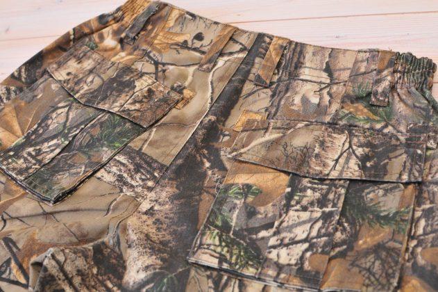 maskáčové nohavice Loshan Oak Softwood