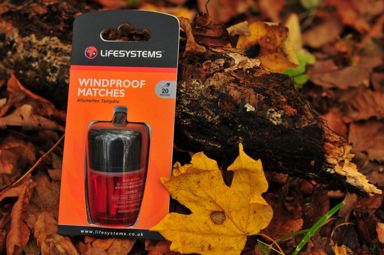 zápalky Lifeventure Windproof Matches