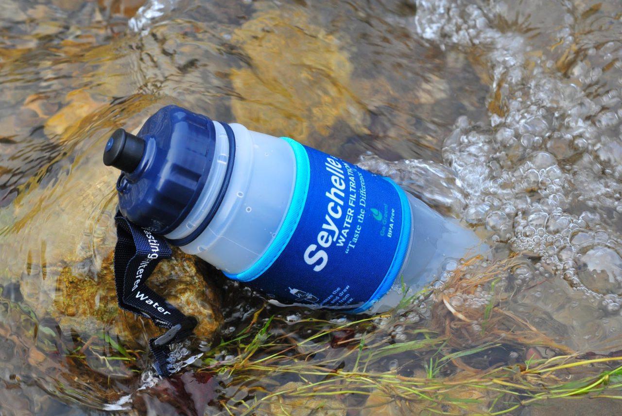 filtračná fľaša Seychelle Pull Top